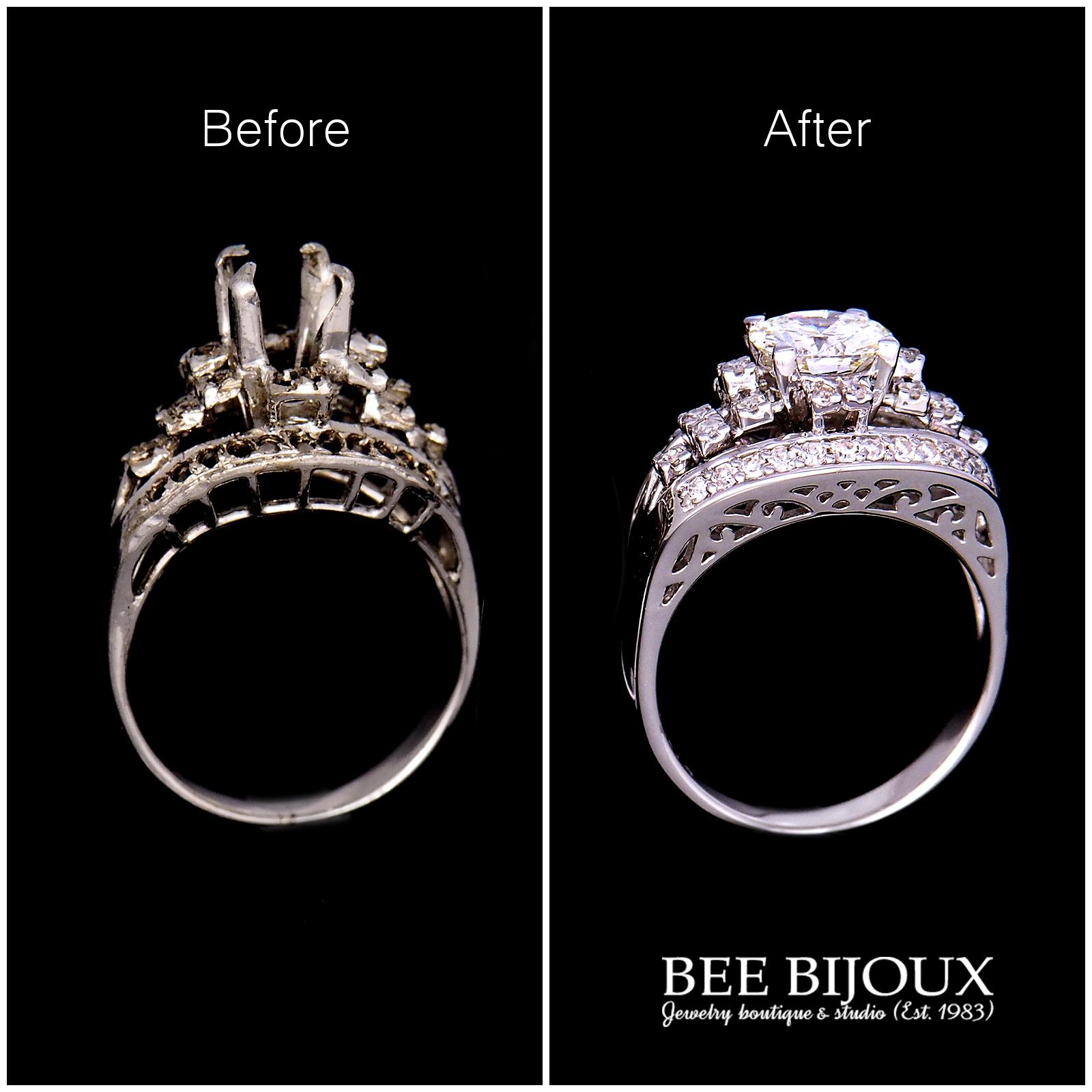 แหวนแต่งงาน before and after